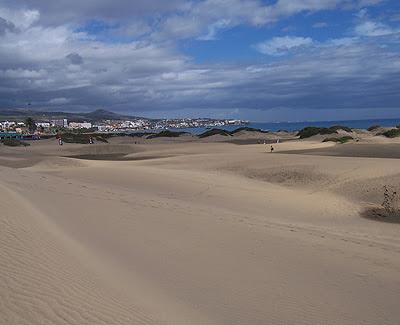 Las Palmas de Gran Canaria - Maspalomas Febrero 2011
