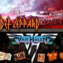 Importantes anuncios de Def Leppard y Van Halen ¿Gira Tour 2011?