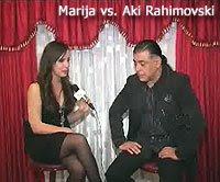 Marija ('Jet Set' @ TV Sitel) vs. Aki Rahimovski (Parni Valjak)