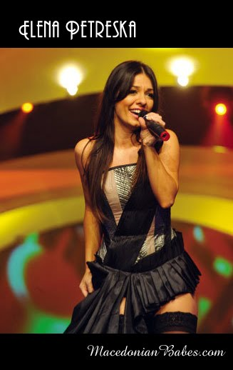 Elena Petreska (Elena Petrevska) - Macedonian Female Pop Music Singer