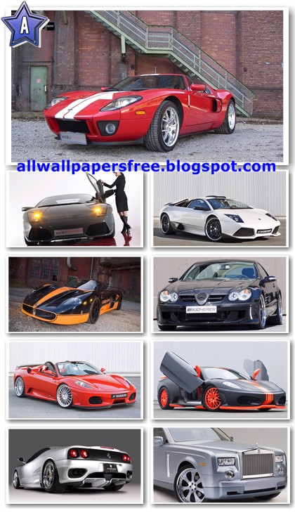 100 Amazing Cars Wallpapers Widescreen 1680 X 1050 [Set 1]
