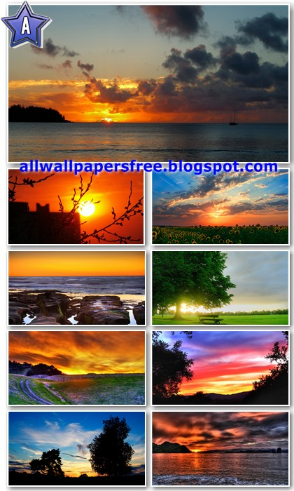 120 Stunning Sunsets Wallpapers Full HD 1080p [Must Have]