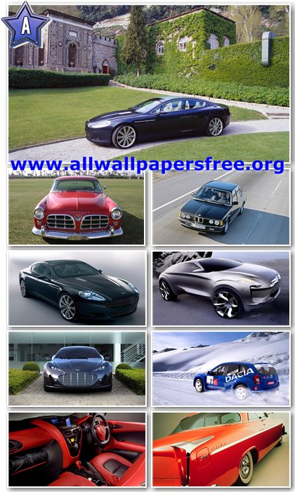 200 Amazing Cars Wallpapers Full HD 1080p [Set 2]
