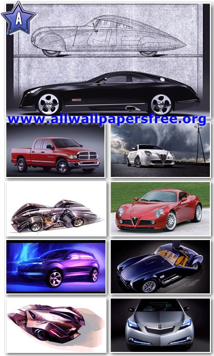 200 Amazing Cars Wallpapers Full HD 1080p [Set 1]