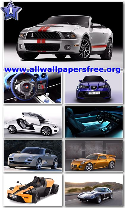 200 Amazing Cars Wallpapers Full HD 1080p [Set 4]