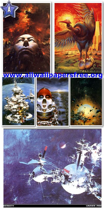 60 Amazing Fantasy Artworks by John Berkey [Up to 1900 Px]