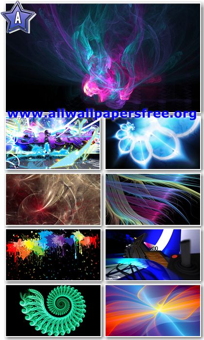 30 Colorful Abstract Wallpapers Full HD 1080p [Set 2]