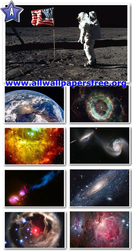 600 Amazing Space Photos LR and HR Up to 5051 X 2841