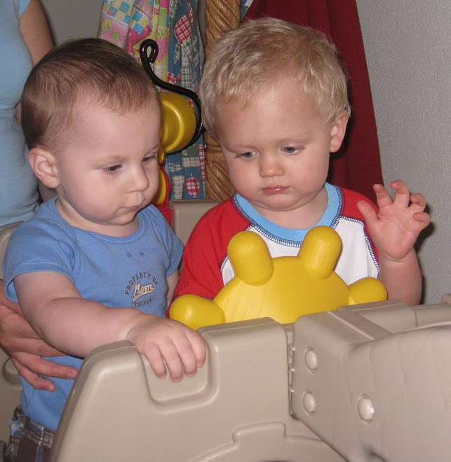 Ethan and Eli playing