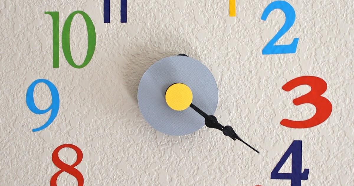DIY: Vinyl Wall Clock