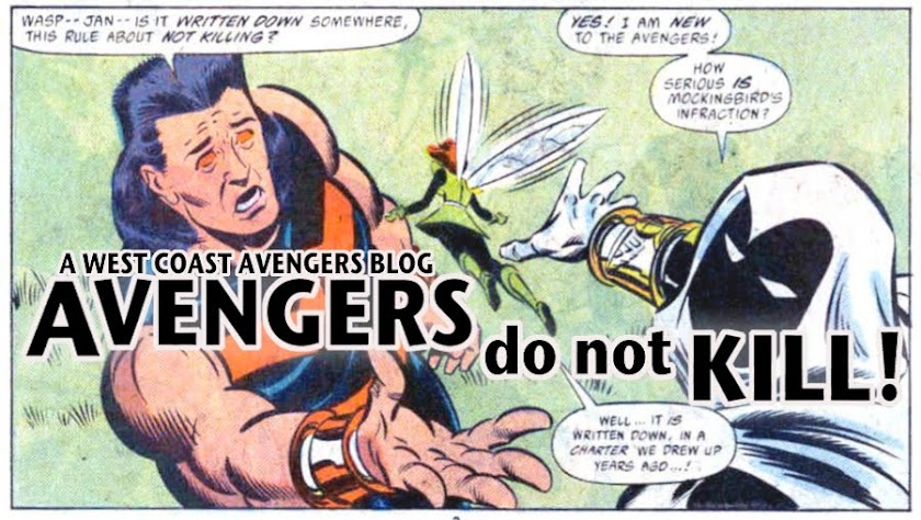AVENGERS do not KILL :  West Coast Avengers Blog