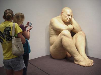 Ron Mueck Hyper-realist Sculptors