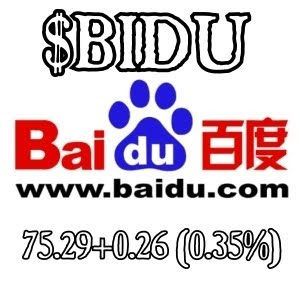 Baidu stock options