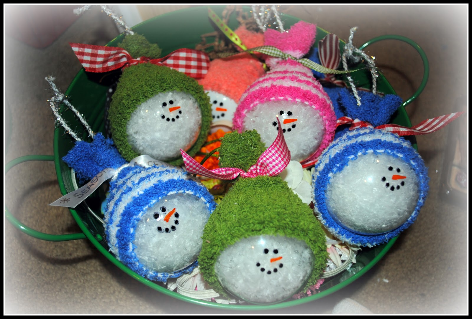 Clear glass craft ornaments - Clear Glass Ornaments For Crafts Snowmen Ornaments