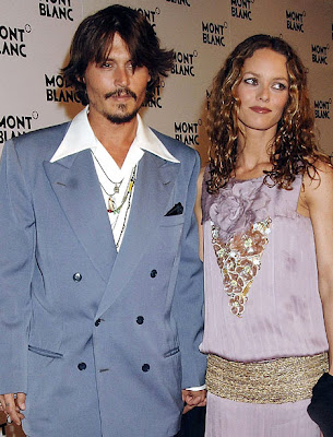 johnny depp and vanessa paradis break. johnny depp and vanessa