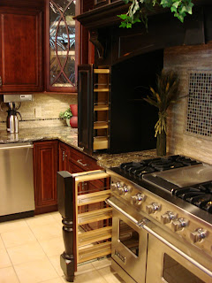 Beautiful With A Subtle Tuscan Feel The Kitchen Is Brought To Life With The Colors Of  Maple Painted In Amaretto And Daiquiri And Cherry Stained In ...
