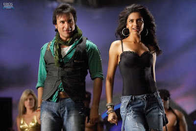"Bollywood film ""Love Aaj Kal"" starring Saif Ali Khan and Deepika Padukone"