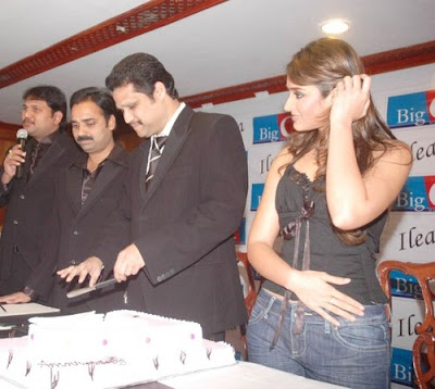 Ileana is the new brand ambassador of Big C mobile retail chain in AP.