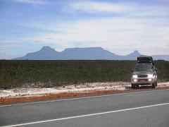 Viaje al Estado Bolívar y Brasil