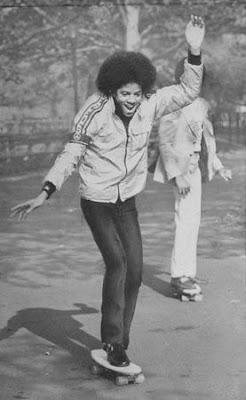 michael jackson skateboarding