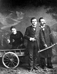Lou Andreas Salomé, Paul Kleé y Niezsche