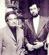 Octavio Paz junto a Julio Cortazar