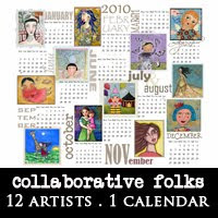 FOLK ART CALENDAR