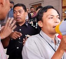 Demontrasi Isu ISA7 di Makhkamah Jalan Duta