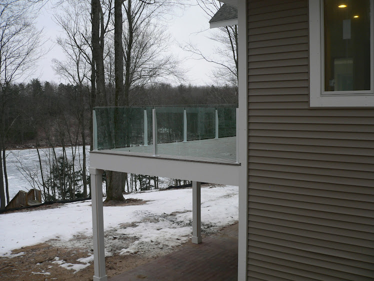 Jan 1 - Side view of the deck