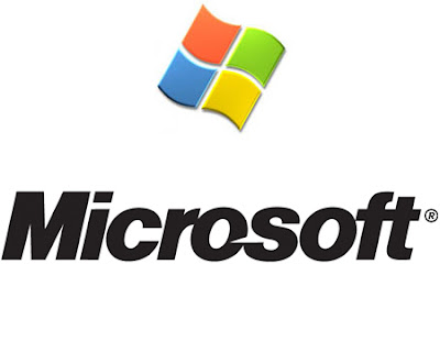 Microsoft Logo,Windows,Notepad,Word,Bug