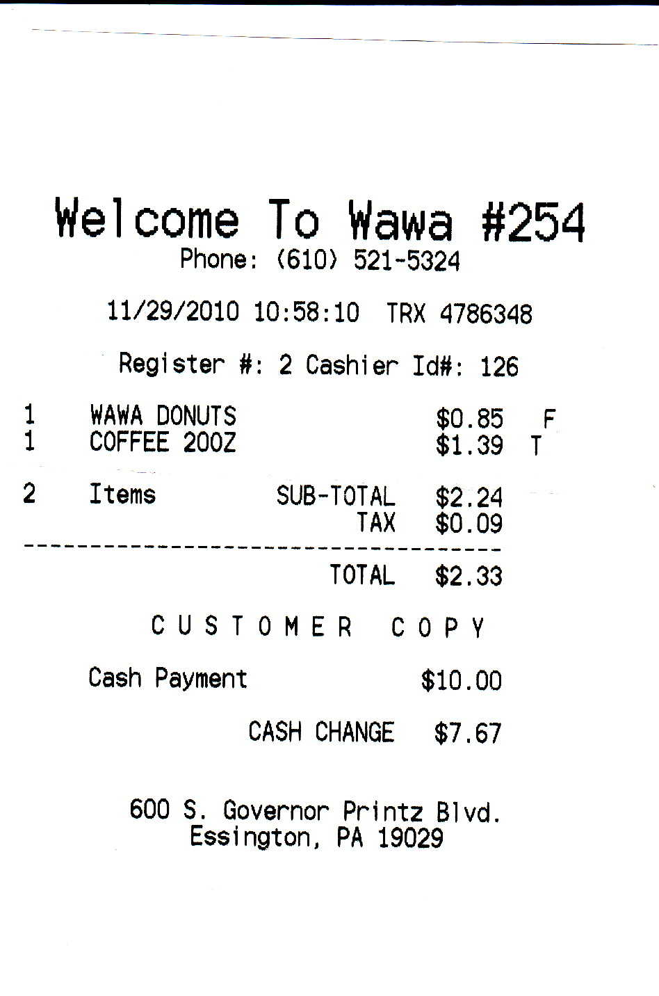 50 in 30 - The Wawa Challenge: November 2010