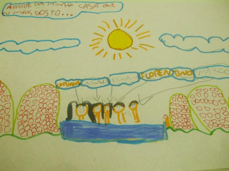 Desenho da aluna Fabiana de Souza Costa - 17-11-10