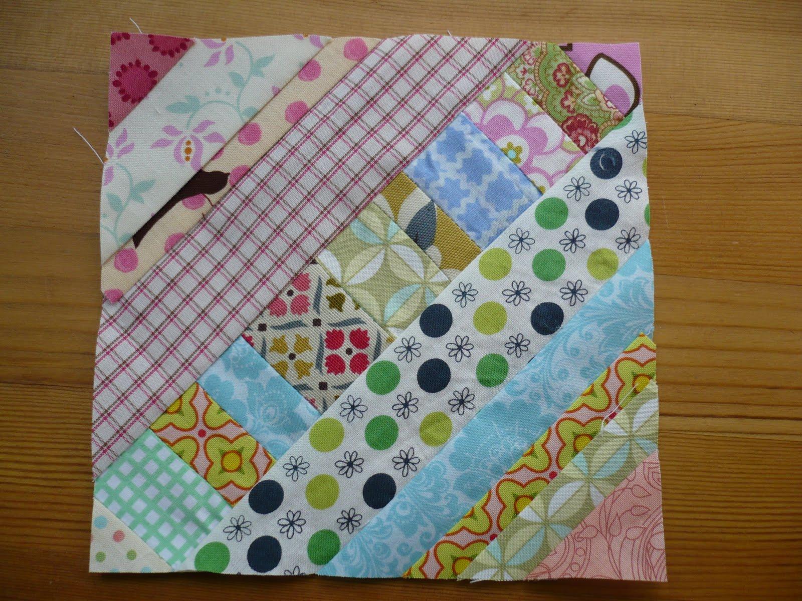 Miss Print: Tutorial: Pieced Centre String Quilt Block : string quilting tutorial - Adamdwight.com
