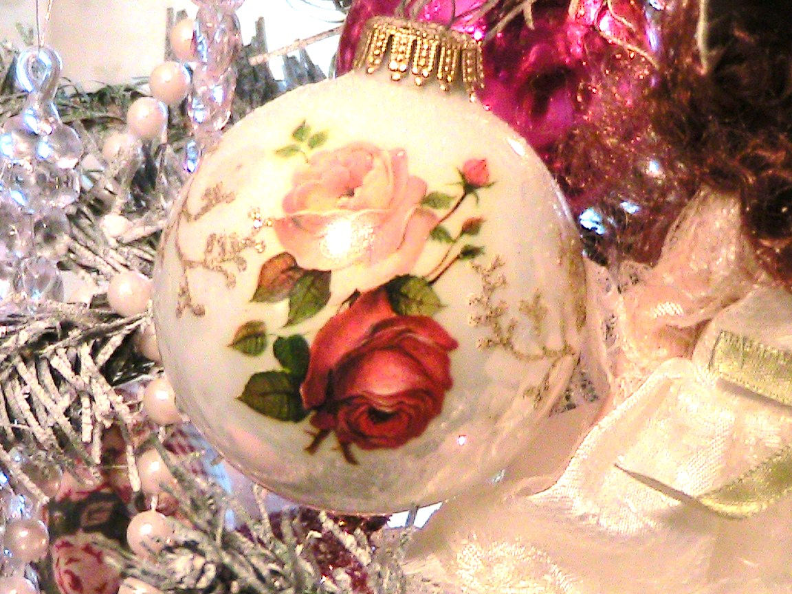 Christmas tree decorations pink - Pink Christmas Ornaments Viewing Gallery