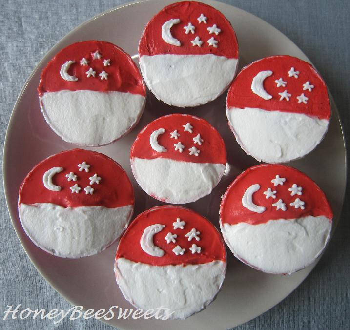 Honey Bee Sweets: Happy 45th Birthday Singapore And My 3rd