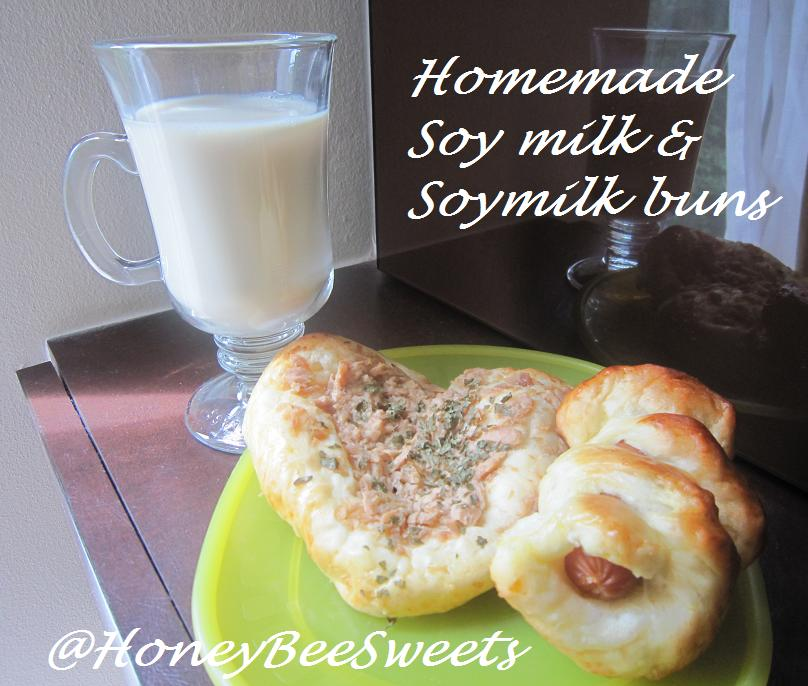 Honey Bee Sweets: Homemade Soy Milk & Vegetarian Soy Milk Whole wheat ...