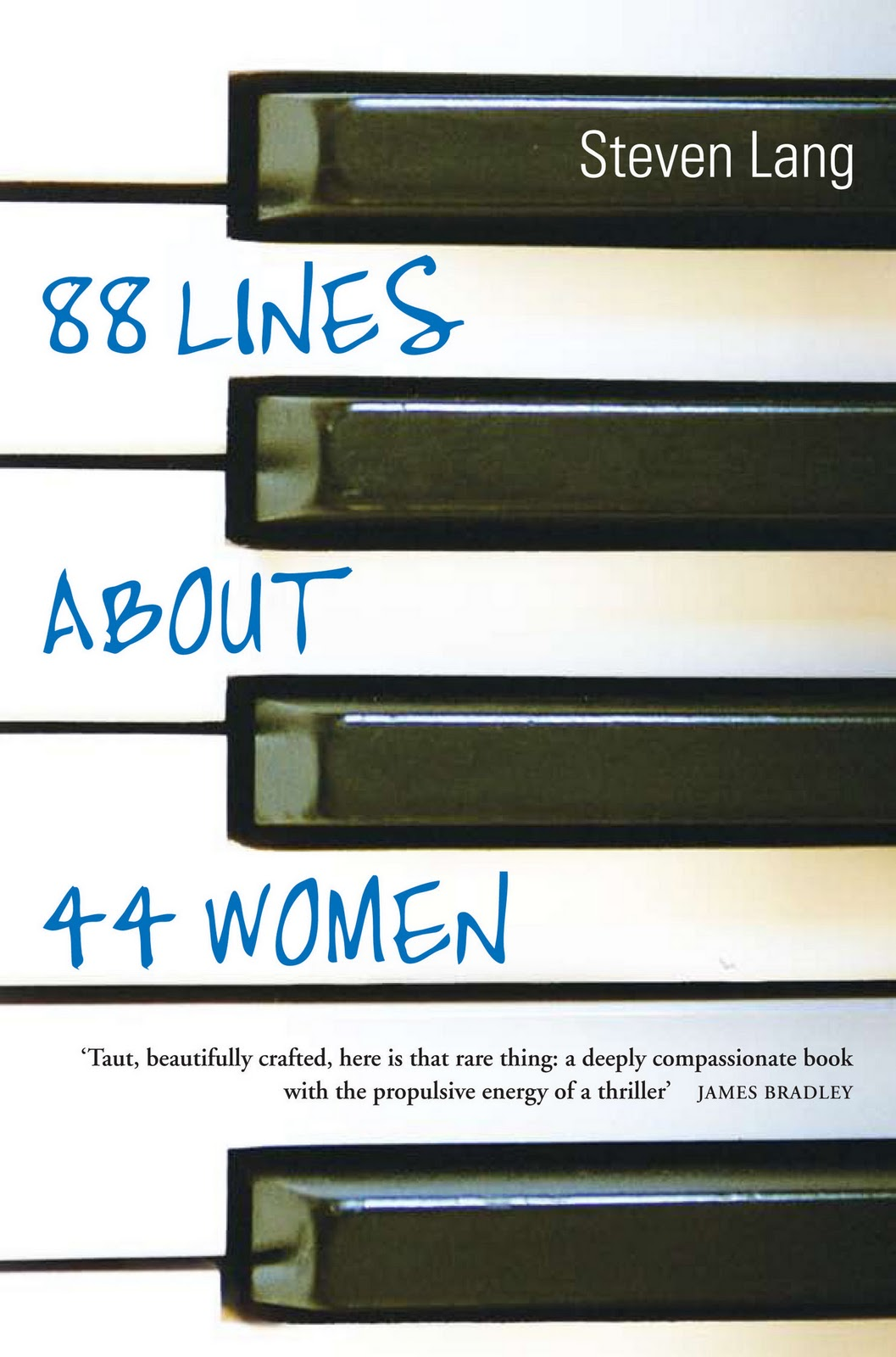 88 Lines About 44 Women by Steven Lang Review Extract; For me there was no