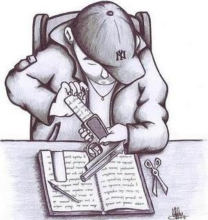 hip hop canciones escritas: