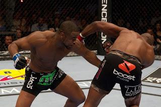 Rashad Evans vs Rampage Jackson