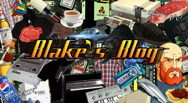 Blake's Blog