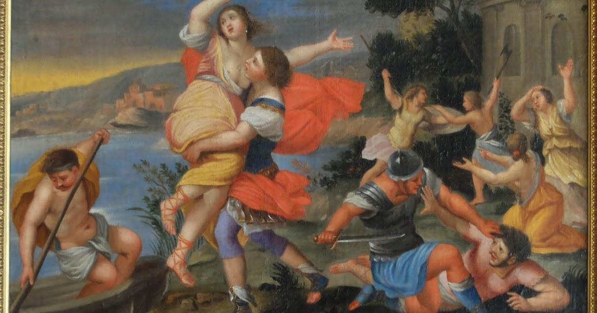 Debat art figuration l 39 enl vement des sabines ambivalence et double jeu - Enlevement encombrant paris ...