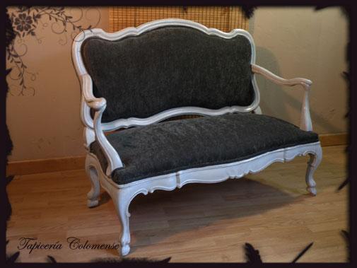 Servicio de tapicer a sof isabelino restauraci n - Tapiceria para sofas ...
