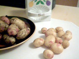 Nyupptagen potatis