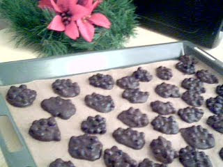 Mörk Choklad och Blåbär