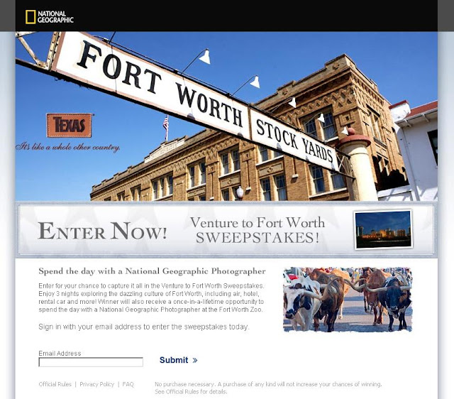 Nationalgeographic.com/texas - National Geographic Venture to Fort Worth