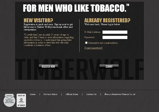 TimberWolfSnuff.com - Timber Wolf Year of Tobacco Contest