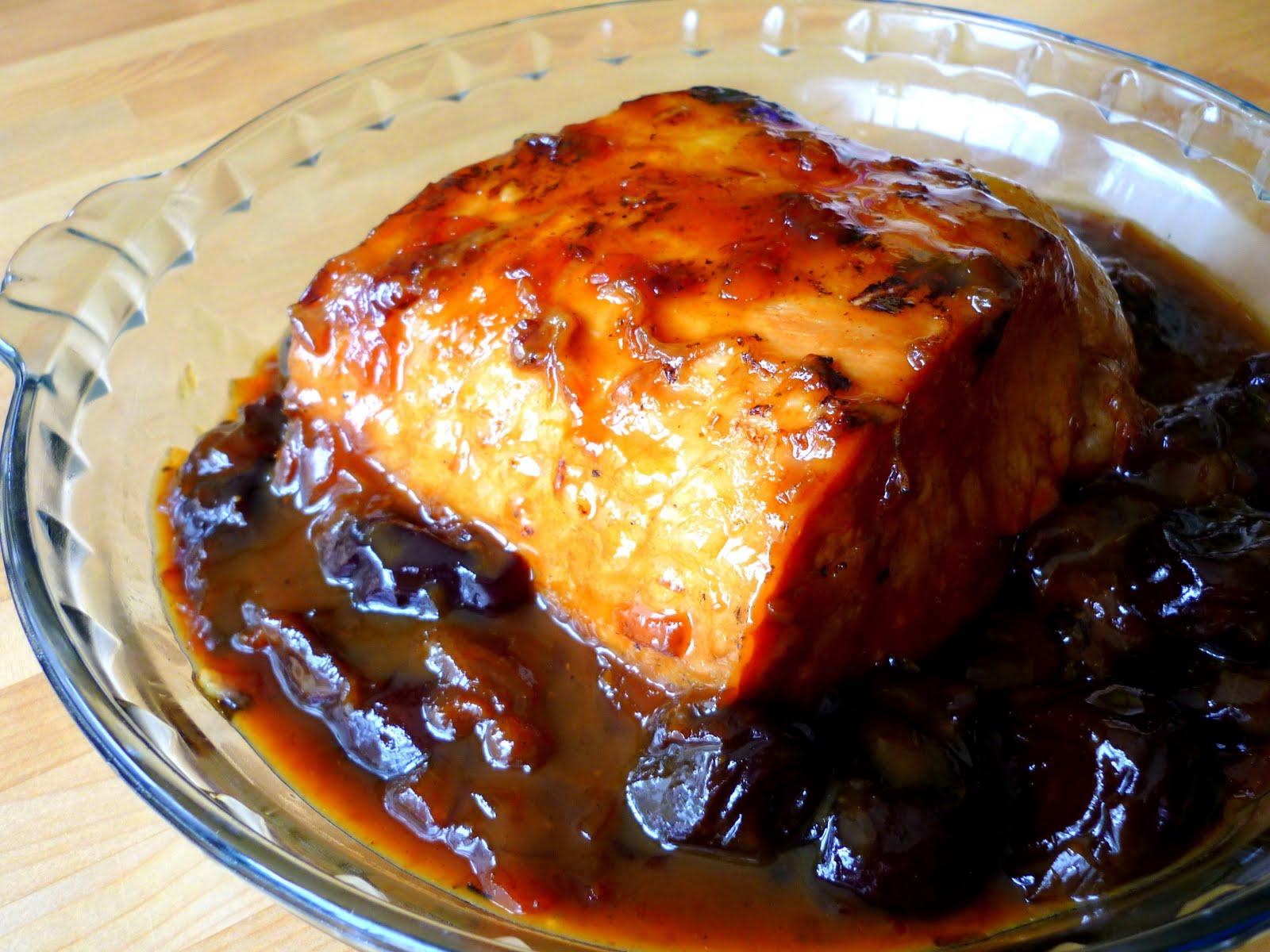 Rôti de porc aux pruneaux ( 5 pp)