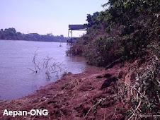 Rio Taquari - Assoreamento.