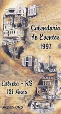 Estrela-RS - Calendário de Eventos 1997