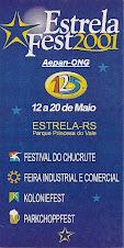 Estrela-RS - Calendário de Eventos 2001